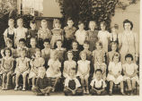 1942  Kindergarten - Miss Powell, teacher, University Avenue School